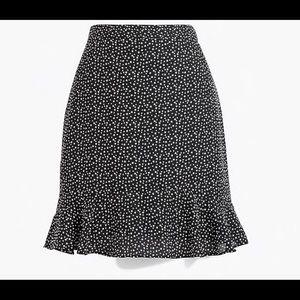J Crew Starry Skirt - Size 12- NWT